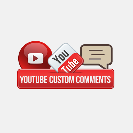 buy custom youtube comments