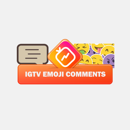 buy IGTV Emoji Comments